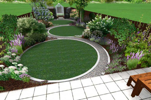 3d design images jm garden design london for Garden design for small gardens