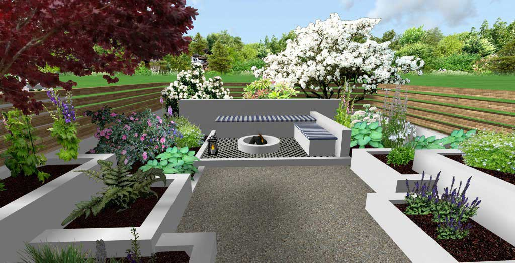 3d design images jm garden design london for 3d garden designs
