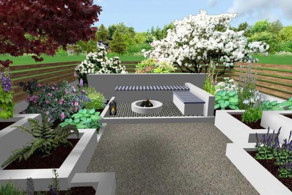 3d design images jm garden design london for Home garden 3d design