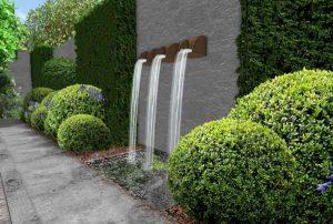 Modern Edwardian Garden