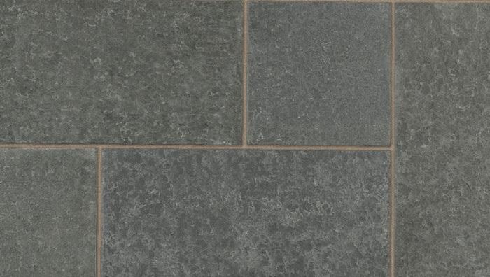 Dark grey granite paving ariel view