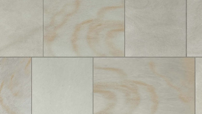Grey Sandstone texture in seven sections