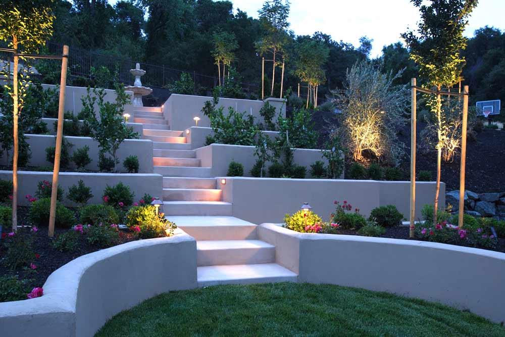 Latge gardens designs - JM Garden Design London