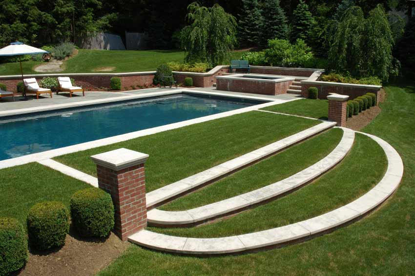 Pool Gardens Jm Garden Design