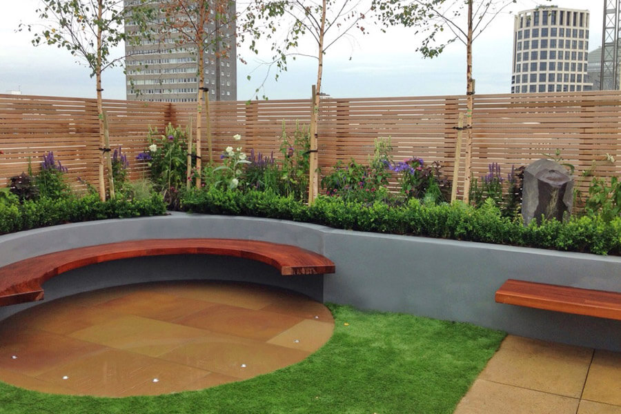 Chelsea-roof-garden-designers