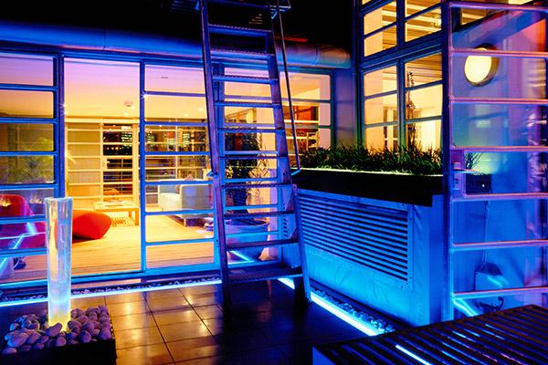Landscaped terrace London