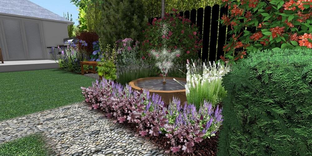 back modular garden London