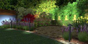 curved garden designers