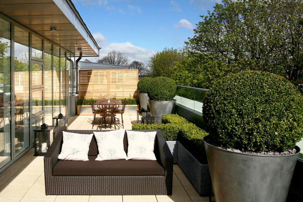 London roof-garden designs