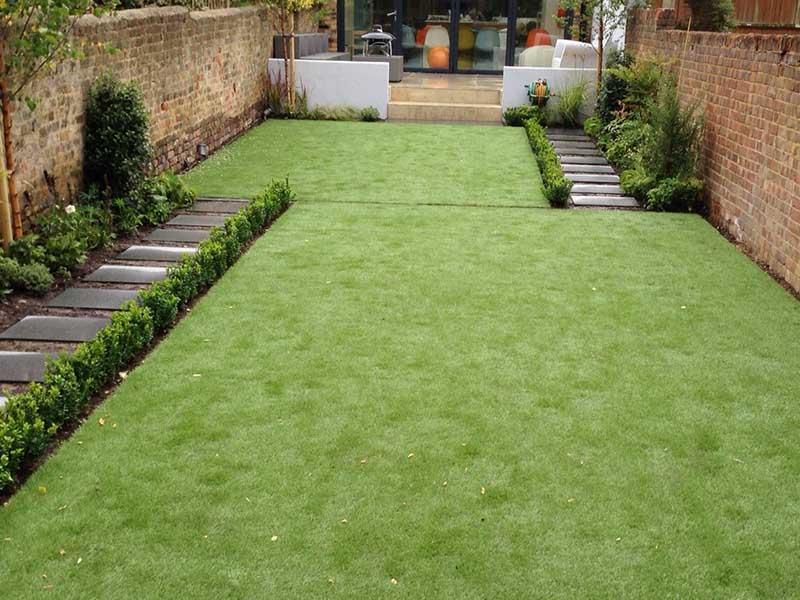 medium easy-care garden