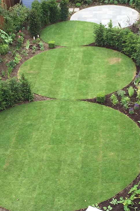 Finchley garden designs