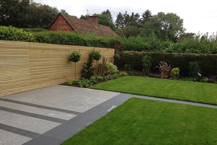 Kent granite garden