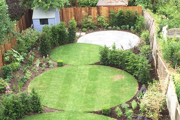 Muswell Hill garden design