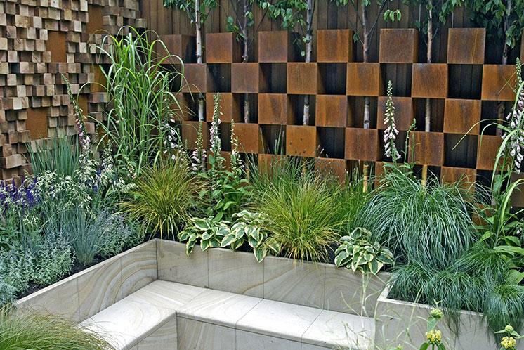 Scandinavian garden design