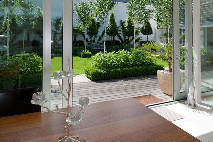 Silver Birch garden design