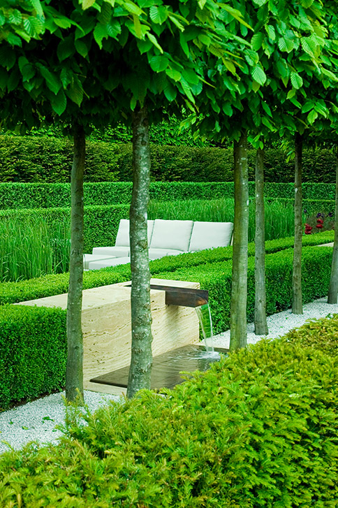 Surrey garden designs