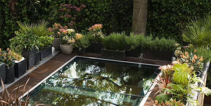glass floor for terraces