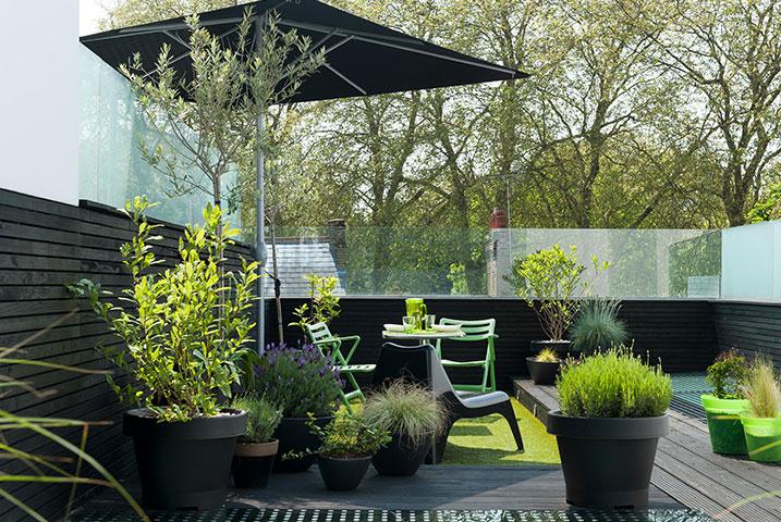 glass garden design