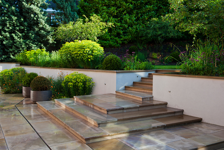 large hard landscaping London
