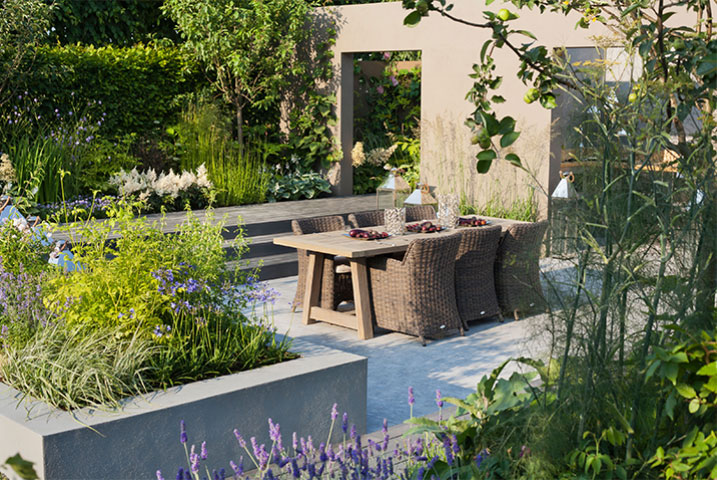 medium garden designs ideas