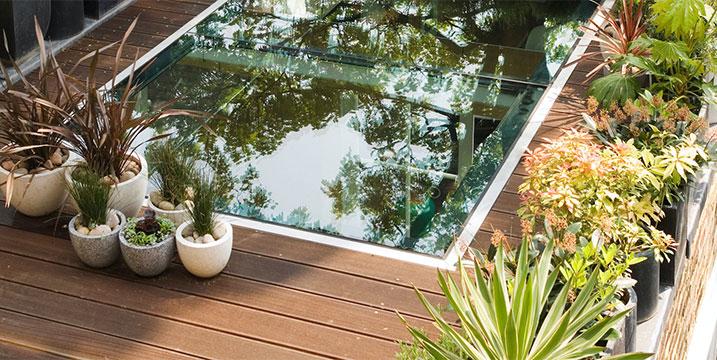 minimal terrace designs