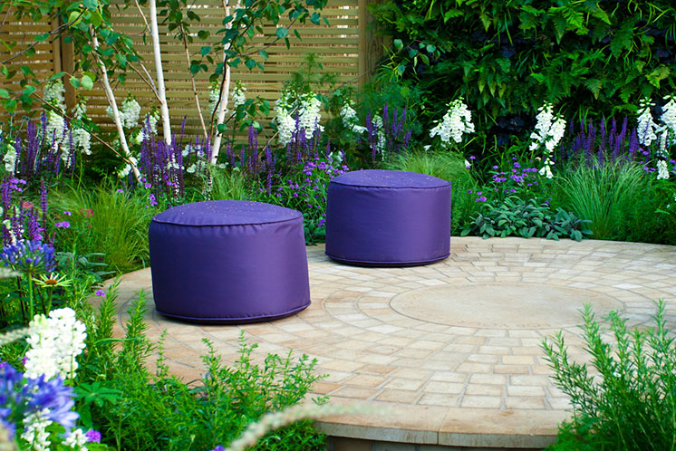 London modern gardens