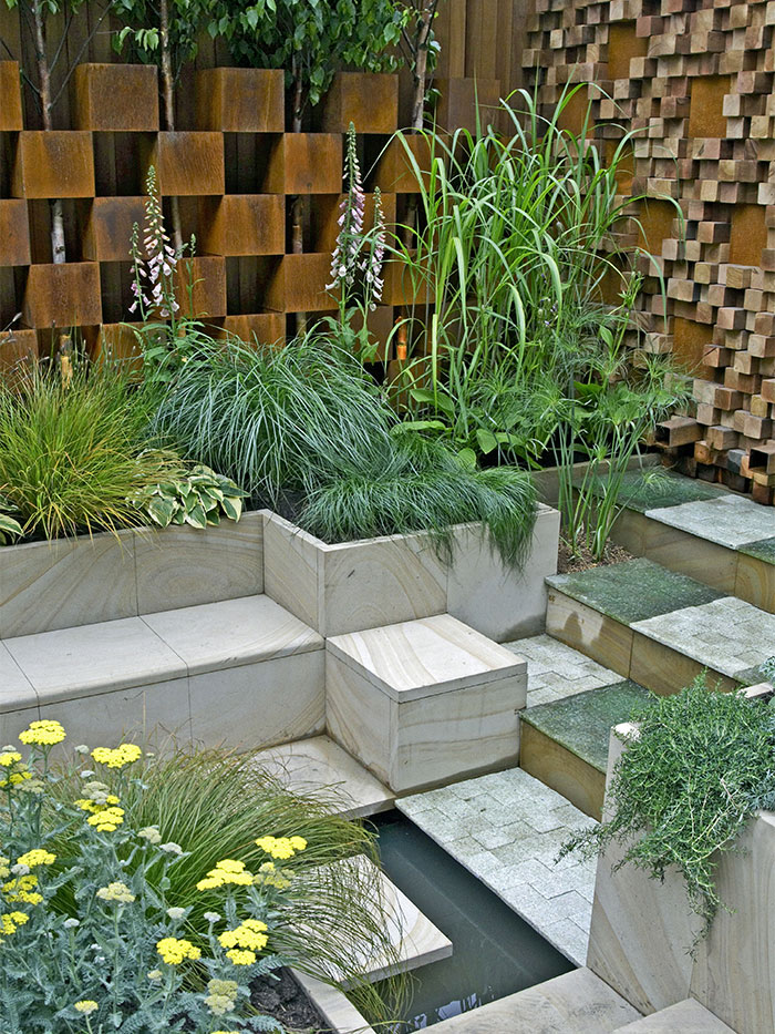 outdoor cooper wall designs