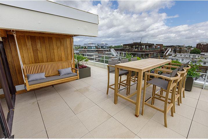 roof terrace London