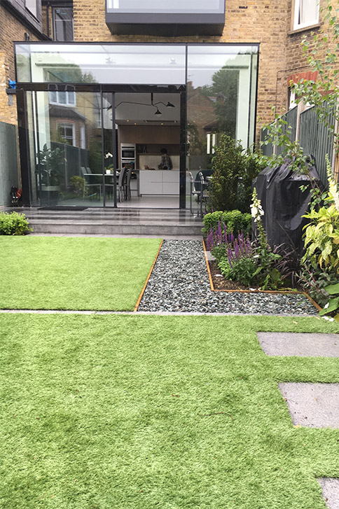 small garden design London - JM Garden Design