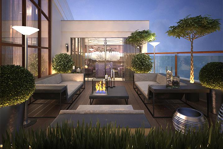 smart roof garden designers
