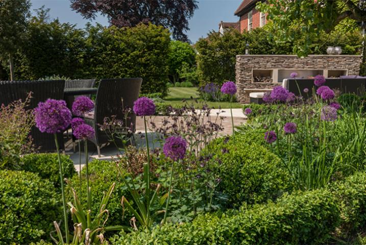 West Wimbledon garden designer